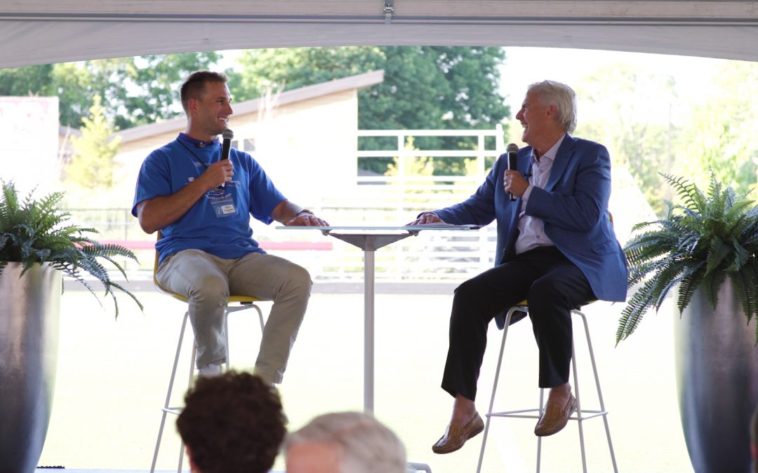 Kirk Cousins talks leadership with Rodger Price